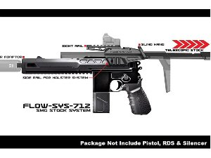 SRU M712 Classic Advanced Design Kit With Flow Stock for WE M712 GBB