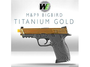 WE Big Bird M&P9 / Titanium Gold