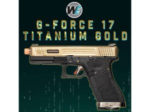 WE G-Force 17 Titanium Gold