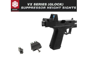 VX (Glock) Suppressor Height Sights