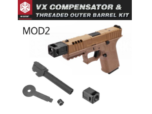 [MOD2] VX Compensator + Threaded Outer Barrel Kit (WE/AW G17/G19)