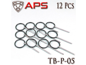 Thunder Shocker Safety Pin 12pcs / TB-P-05