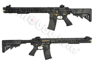 A.P.S. ASR-118 BOAR Defense Ambi EBB Rifle (3Gun, Multicam Black)