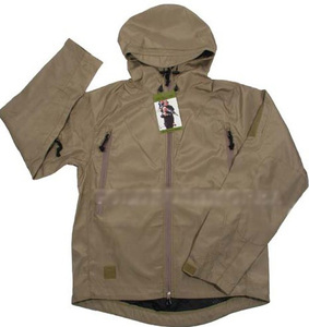 G.I SURPLUS SOFT SHELL JACKET (TAN)
