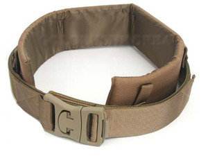 PAD PISTOL BELT(TAN)